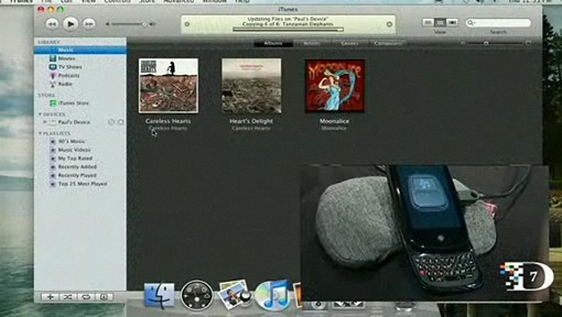 Palm Pre Syncing with iTunes