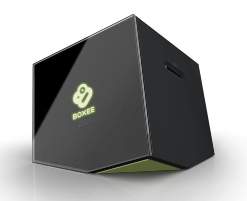 The Boxee Box Front