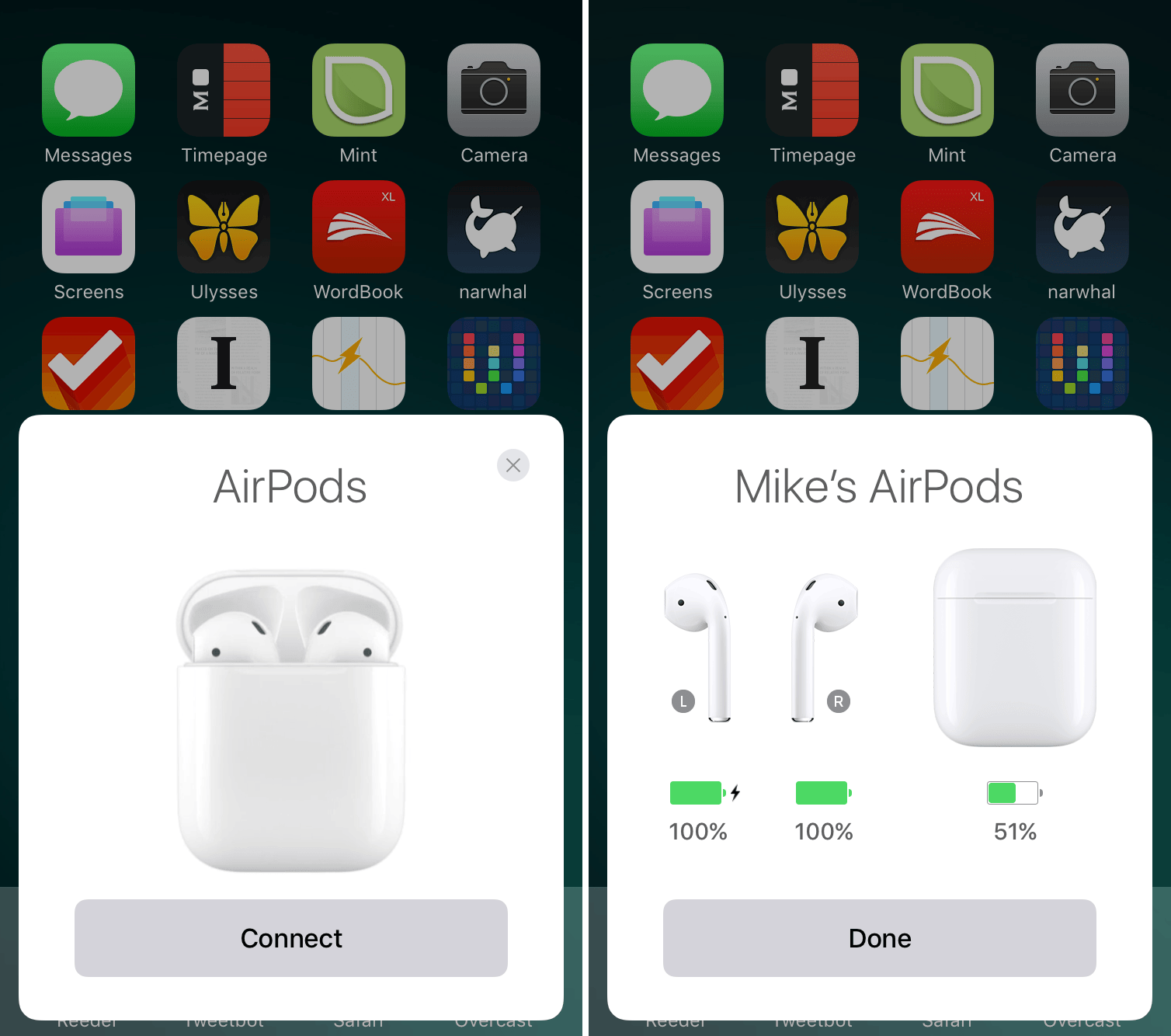 AirPods Pairing Process