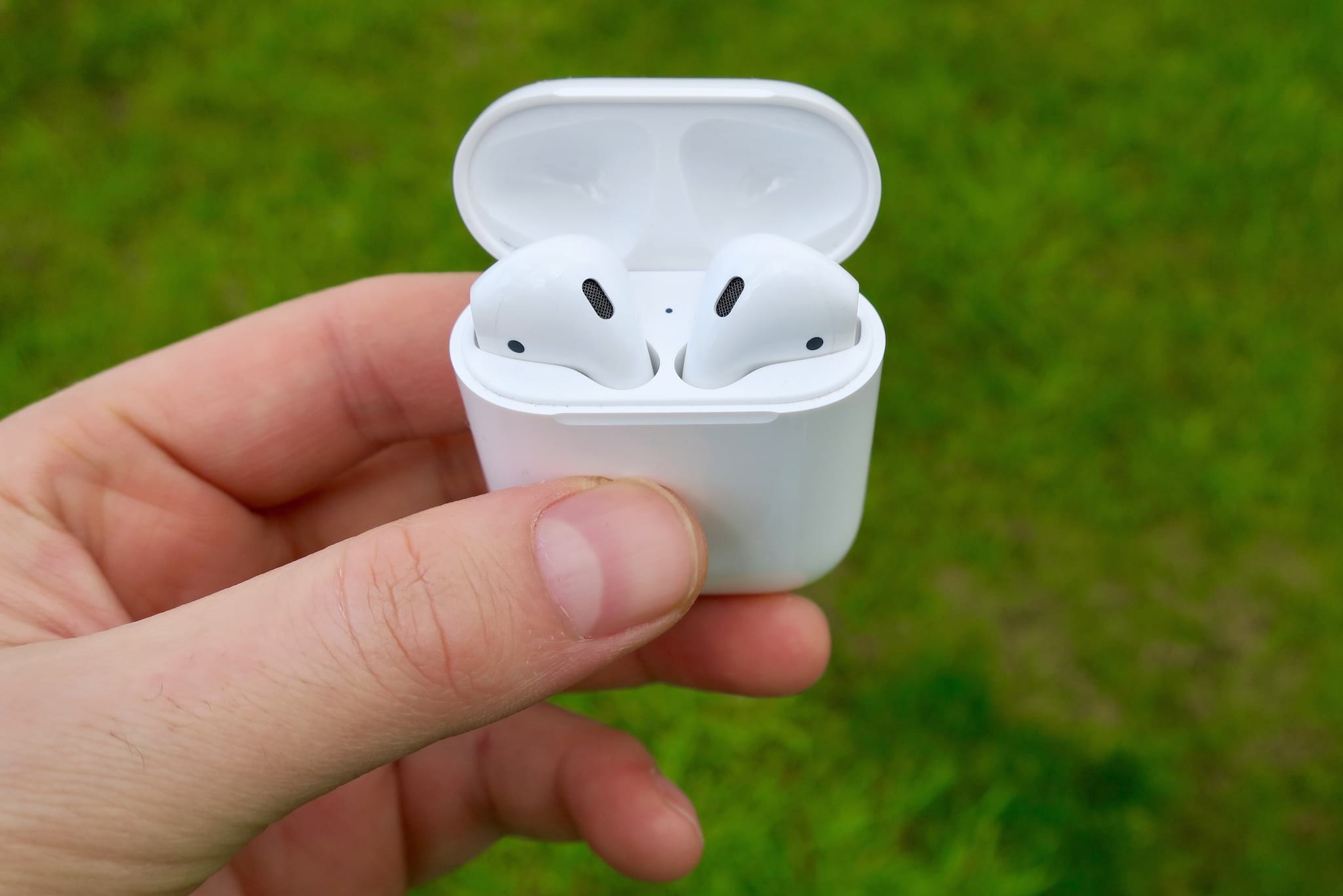 AirPods Outside