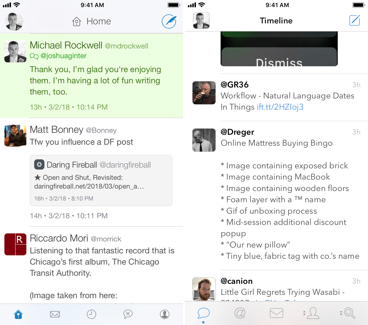 Twitterrific and Tweetbot