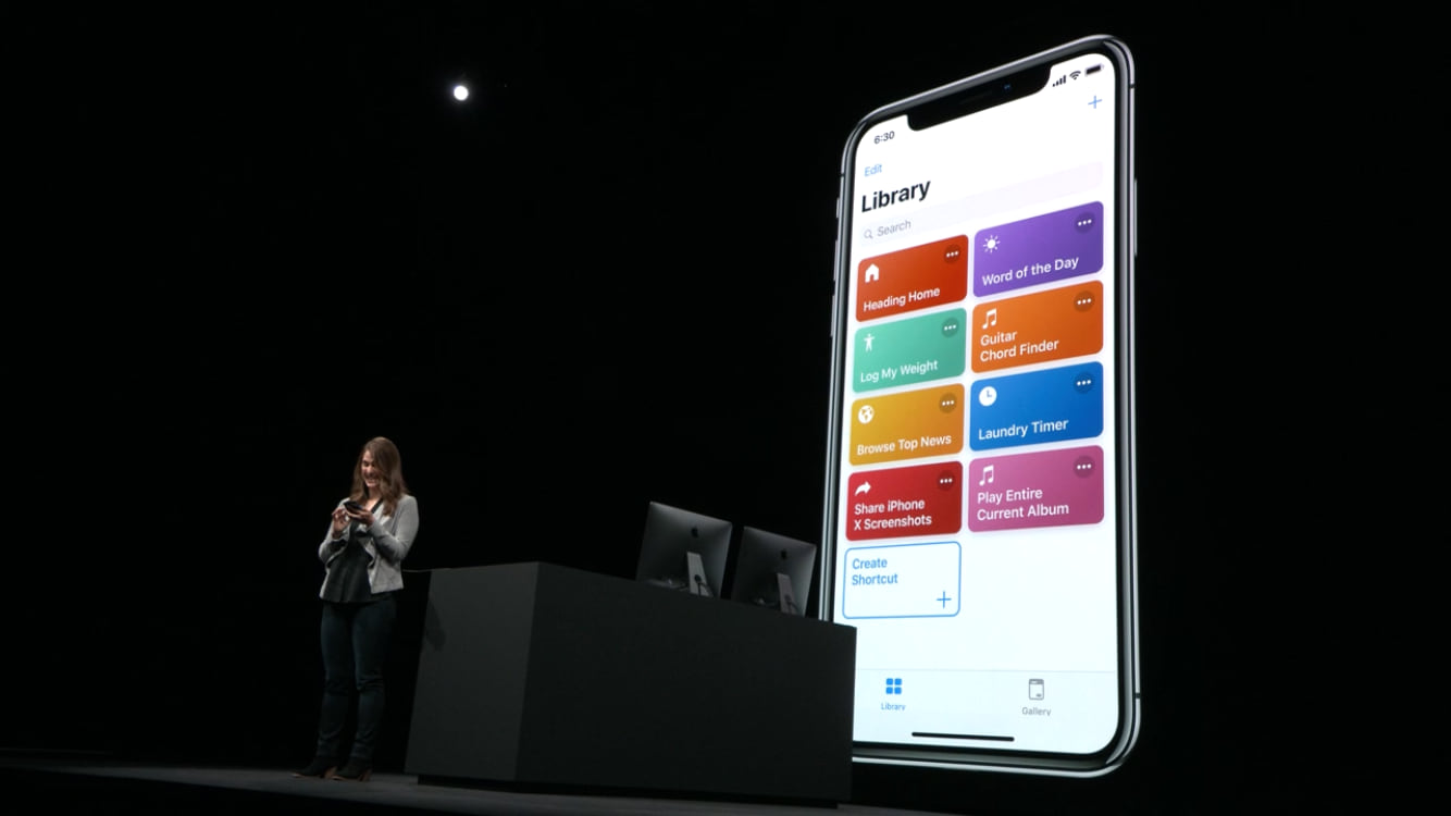 Shortcuts on Stage at WWDC