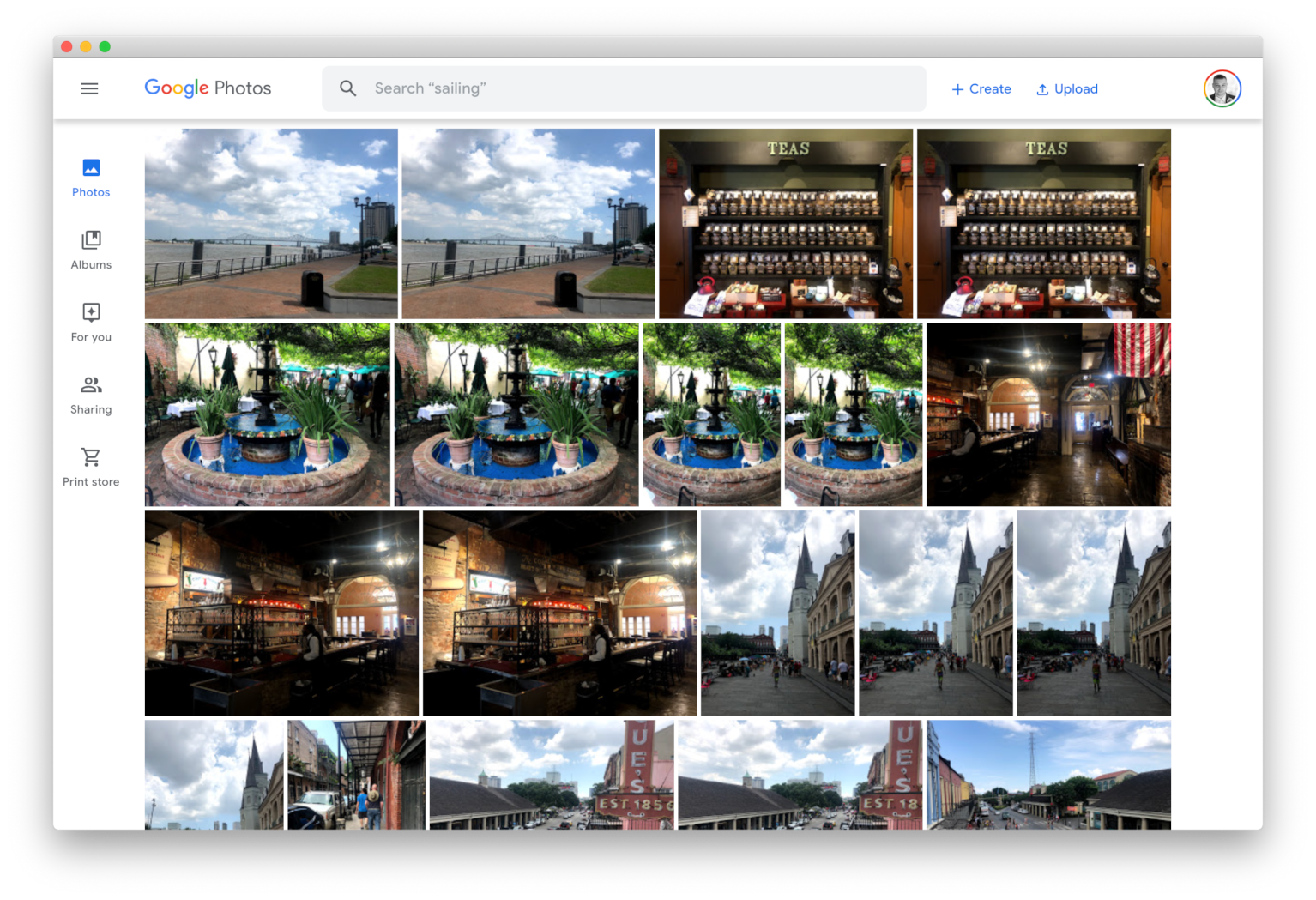 Google Photos in Fluid