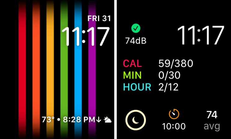Apple Watch Face — August 2020